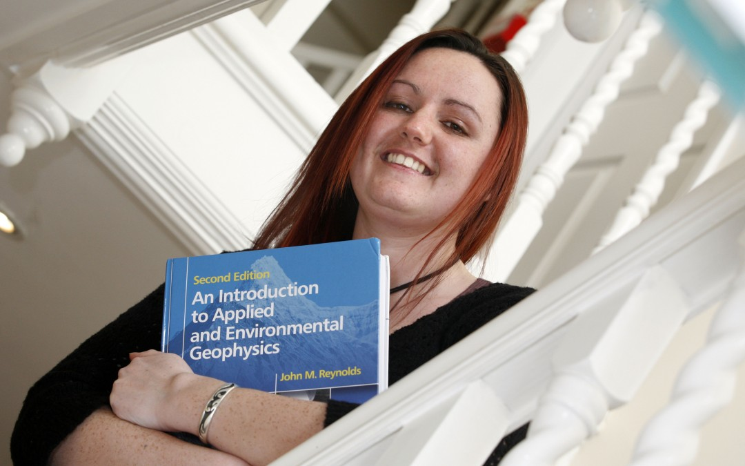 Geologist Holly sees her name in print