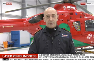 National media coverage for the Wales Air Ambulance