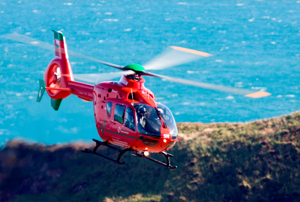 PR and media relations for the Wales Air Ambulance