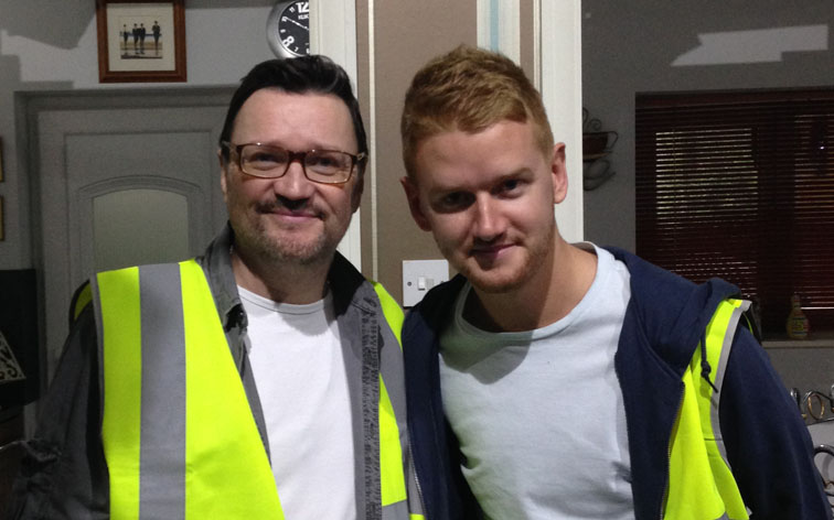 Corrie actor boosts SEO specialists' quiz and auction for Flintshire charity