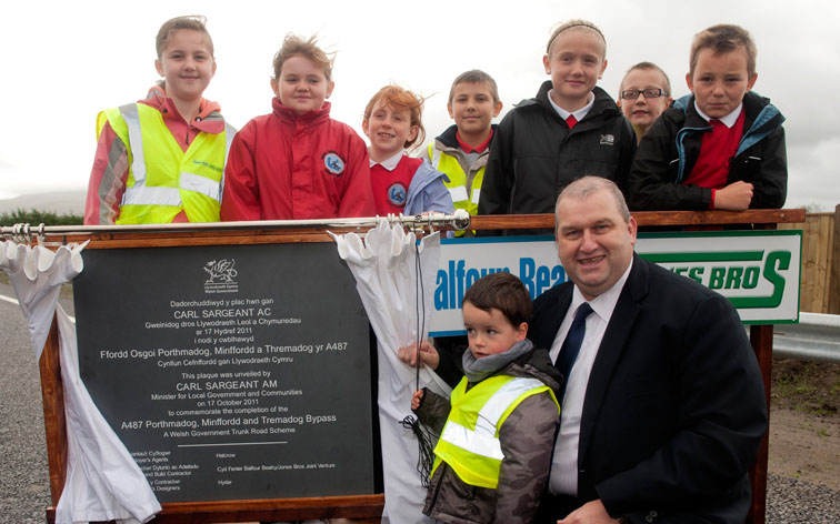 Outwrite's role at £35m bypass unveiling