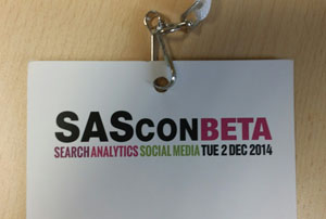 SAScon BETA conference 2015 review