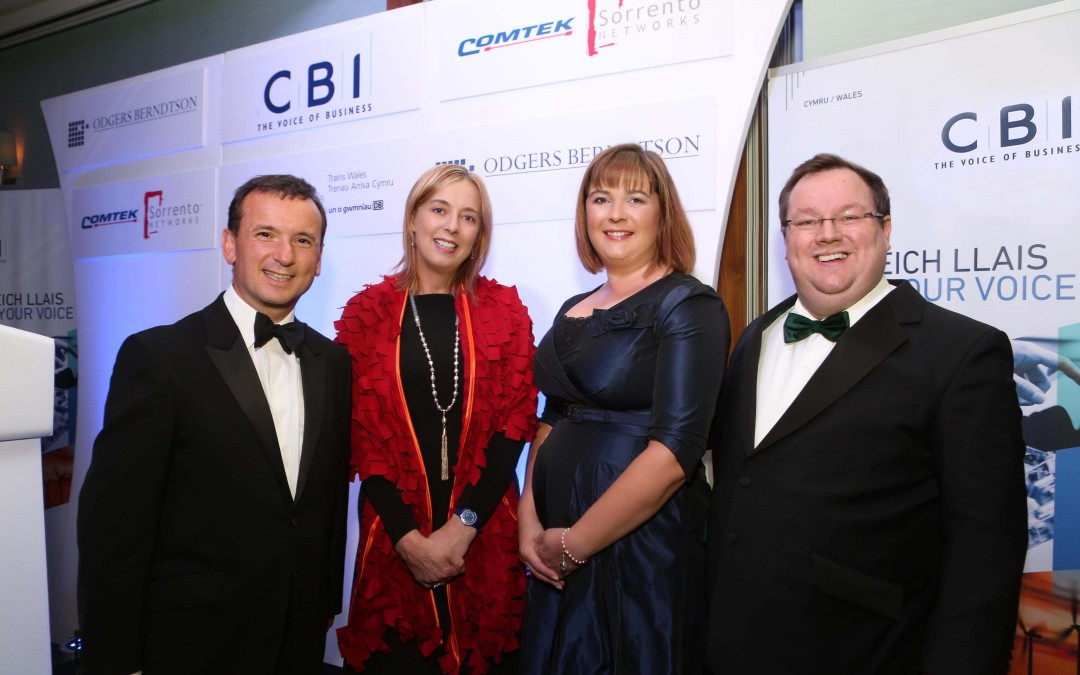 North Wales' business leaders urged to capitalise on Northern Powerhouse opportunity at annual CBI dinner