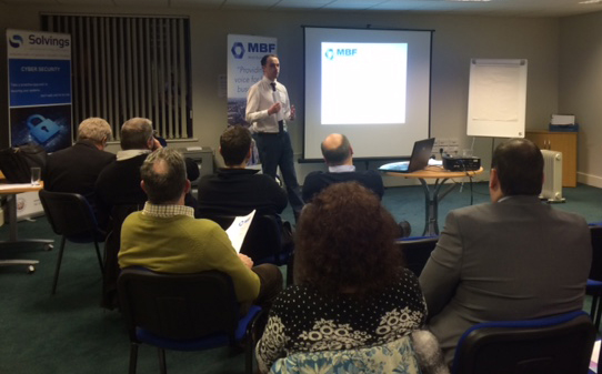 Outwrite talks digital PR at a North Wales business forum