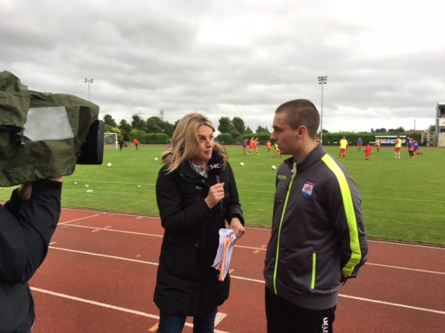 Will speaks to S4C in live interview