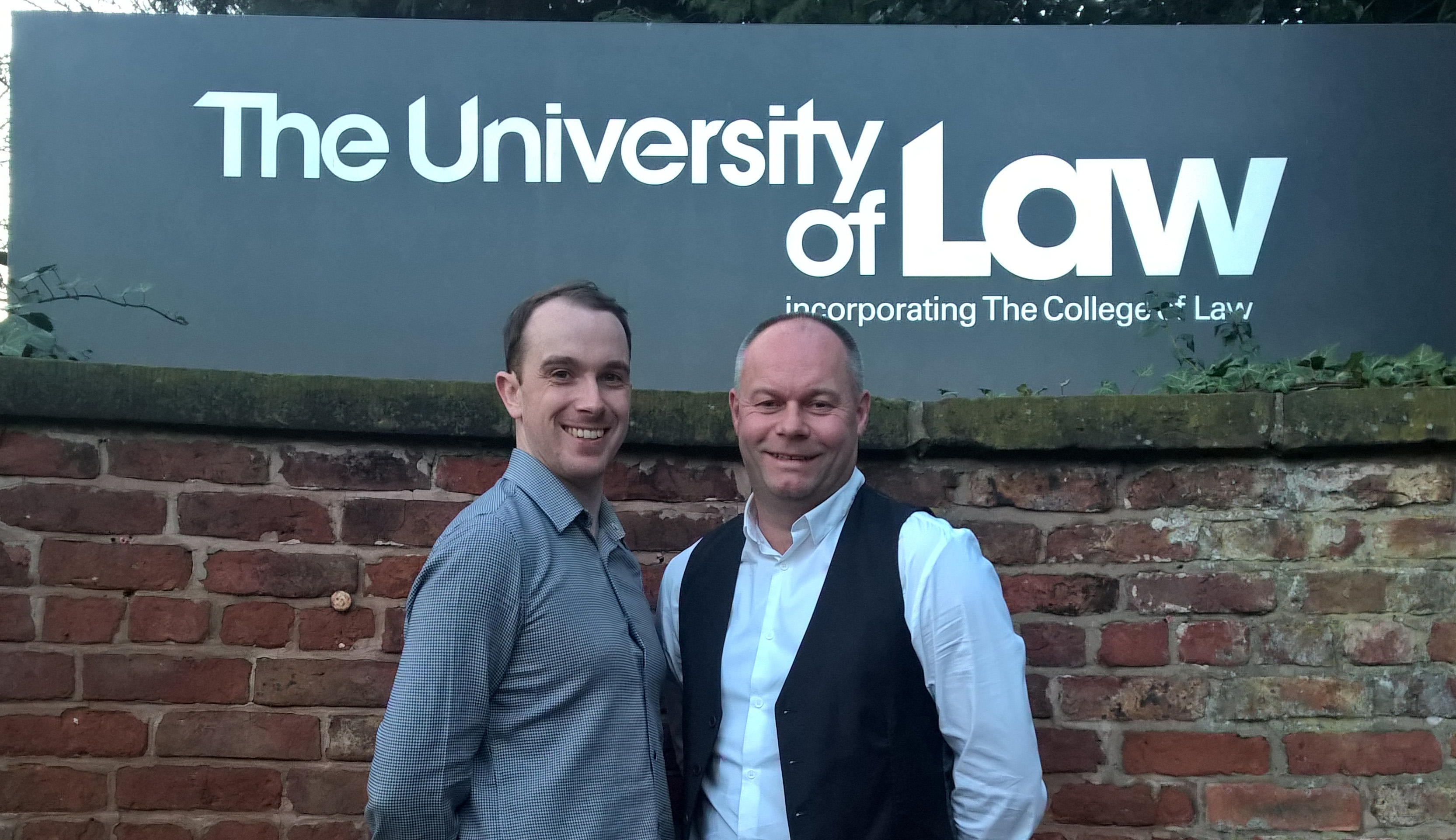Anthony and Derek deliver PR and SEO workshop for top Chester and North Wales lawyers