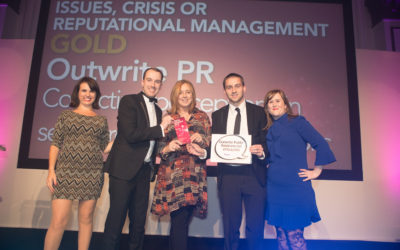 Digital PR agency celebrates double success at top industry awards