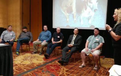 SEO Expert Derek speaks at exclusive Las Vegas conference