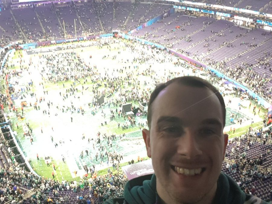 Anthony bowled over by Super Bowl experience