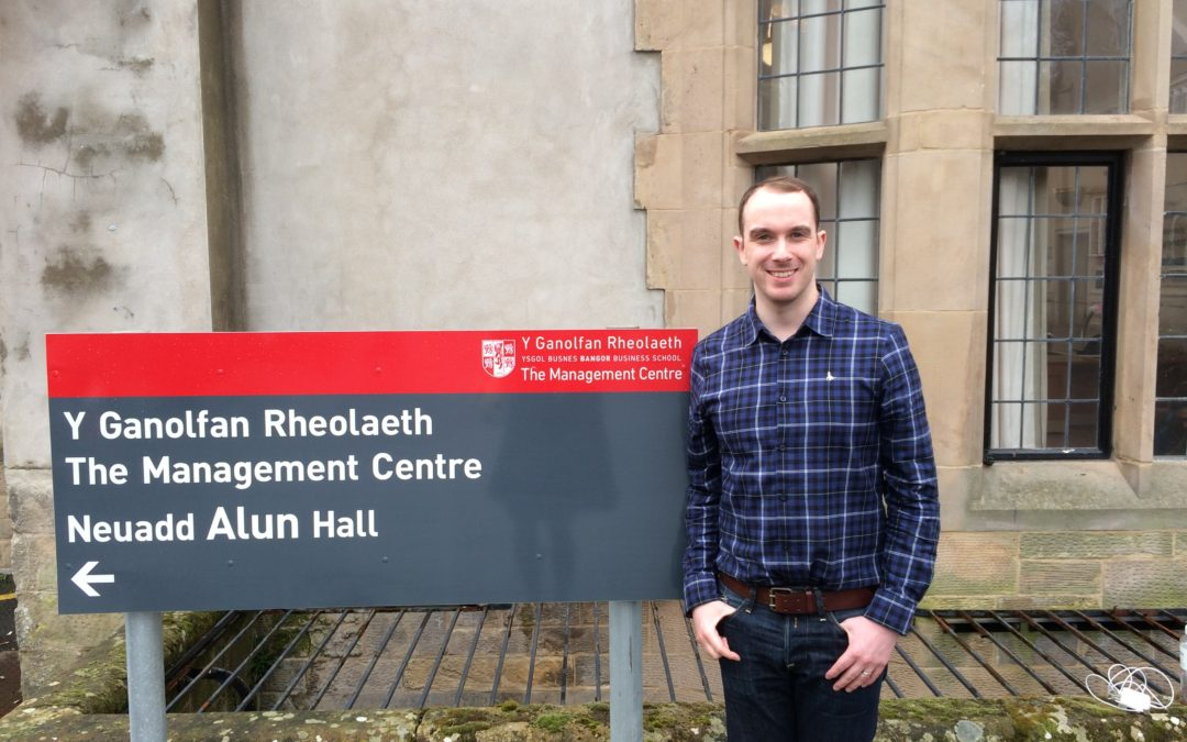 Outwrite's Anthony talks PR at Bangor University