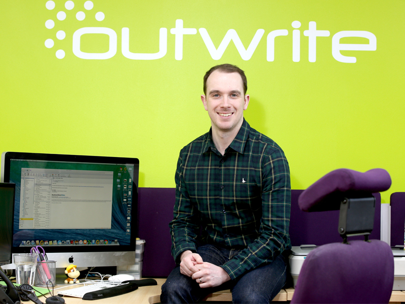 Anthony is the new owner and managing director at Outwrite PR