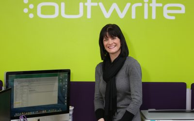 Time flies for Outwrite's Jill