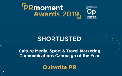 Update: Outwrite at the PRmoment Awards