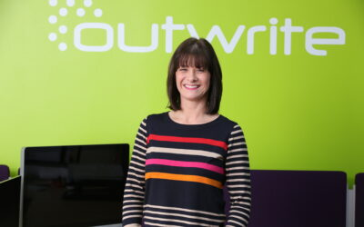 Jill marks three years at Outwrite